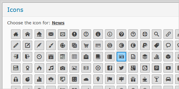 How to Create Drop-Down Menu with Icons