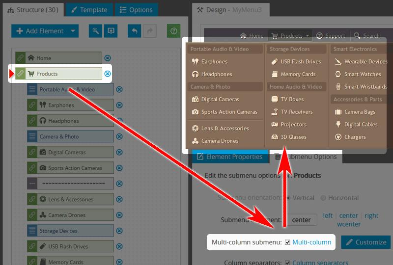Website Navigation: Avoid Long Submenu Lists
