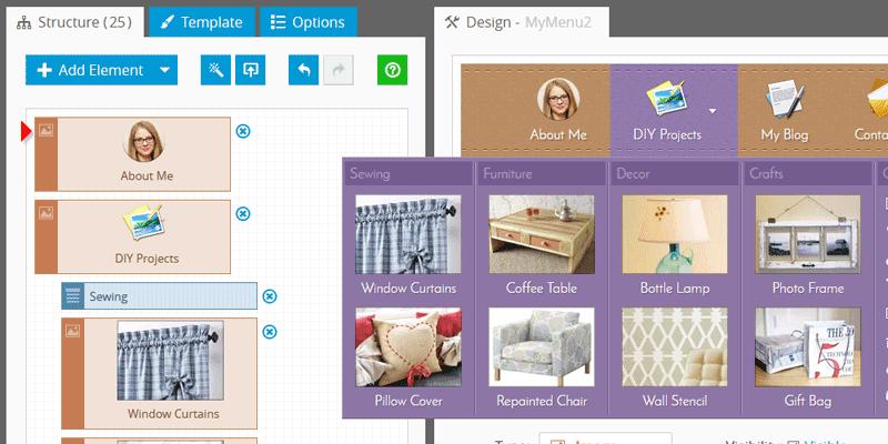 Website Navigation: Use Images